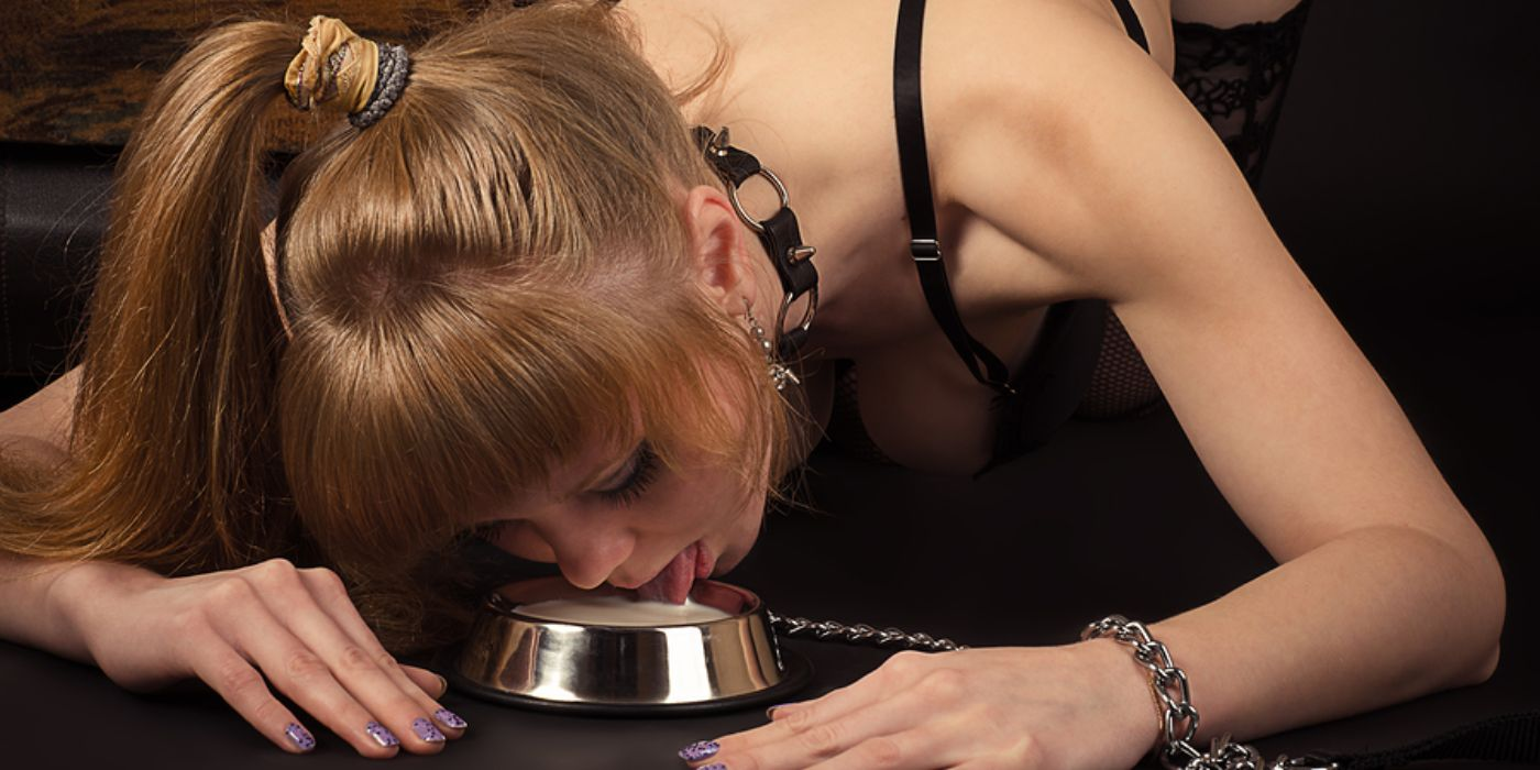 Hot Nude human pets in bdsm